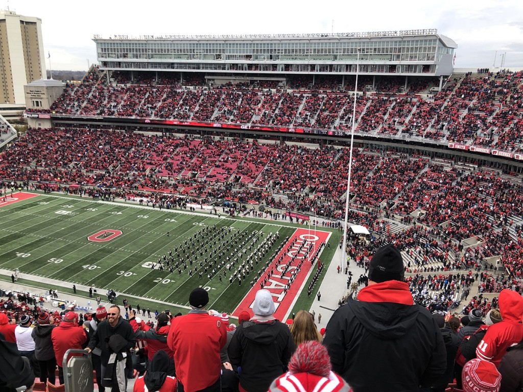 Ohio State Football Crowd