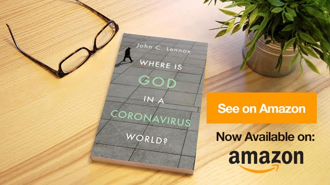 John C Lennox Where is God in a Coronavirus World Book