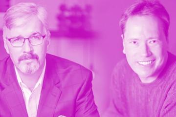 Ed Kalegi and Larry Alex Taunton